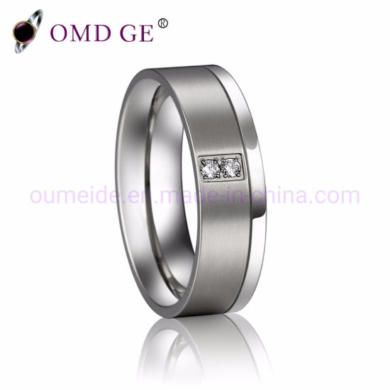 Fancy 6mm Brushed Tungsten Mens Wedding Bands pictures & photos