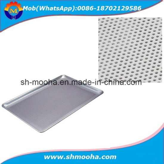 """Bakeware 14/"""" or 15/"""" Perforated Pizza Pan Commercial Baking Tray Aluminum"""