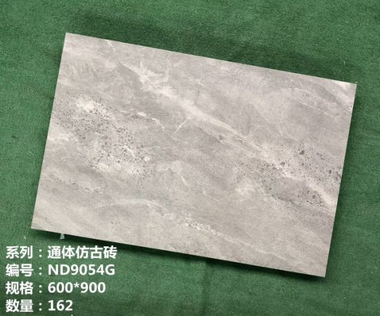 Building Material 60*90cm Rustic Stone Flooring Marble Porcelain Wall Interior & Exterior Tile