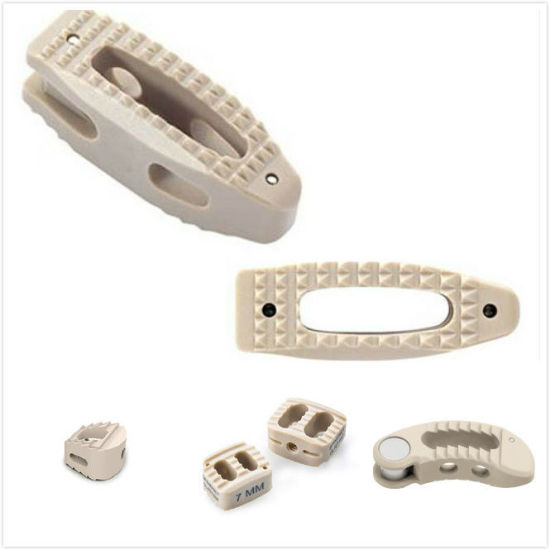 Orthopedic Peek Cage Cervical, Lumbar Cage Interbody Fusion Cage
