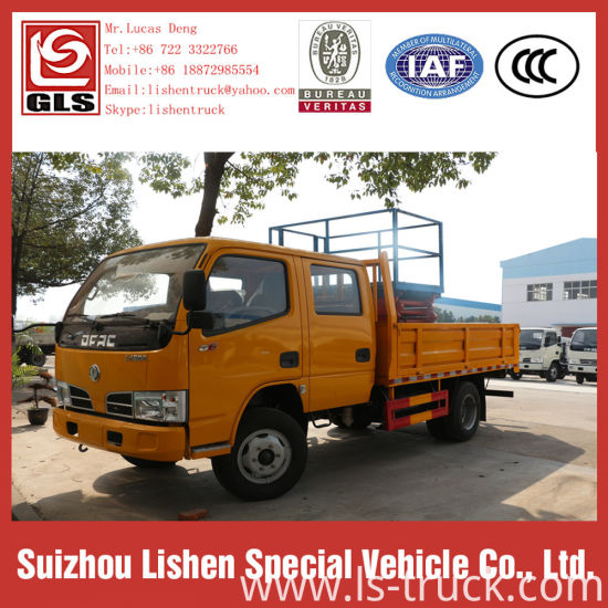 12m 10m 8m 6m Scissor Lift Aerial Work Platform Truck pictures & photos