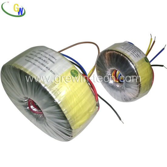 220V to 110V Dry Type Toroidal Transformer for Audio Transformer pictures & photos