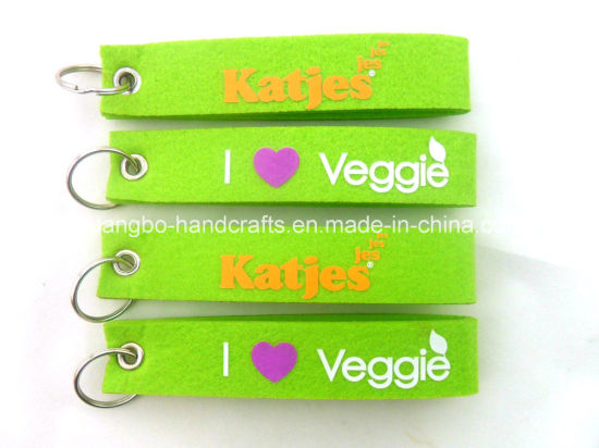 High Quality Fashional Hot Wholesales Felt Keychain pictures & photos