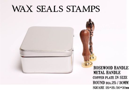 Vintage Metal Handle Wax Seal Stamps pictures & photos