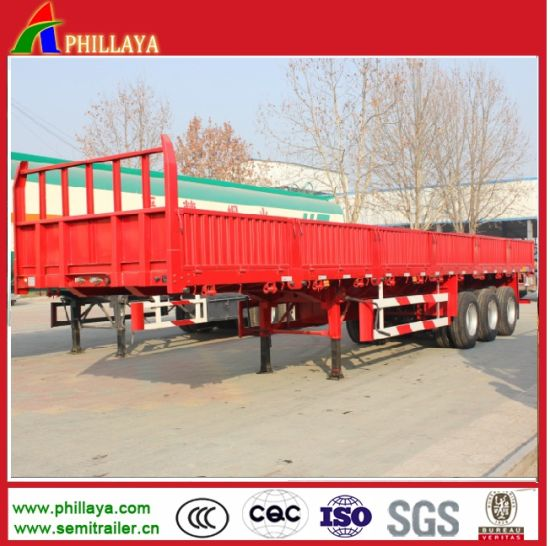Widely Used Side Wall Truck Semi Trailer for Container Cargos pictures & photos