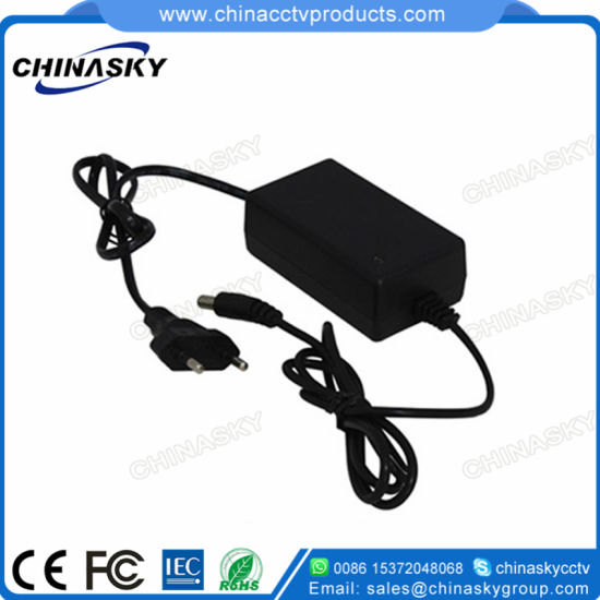 12VDC 1AMP Ce Desktop CCTV Surveillance Camera Power Adapter S1210d