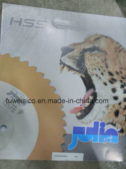 HSS M35 Circular Saw Blade 350X2.5X32mm for Cutting Stainless Steel. pictures & photos