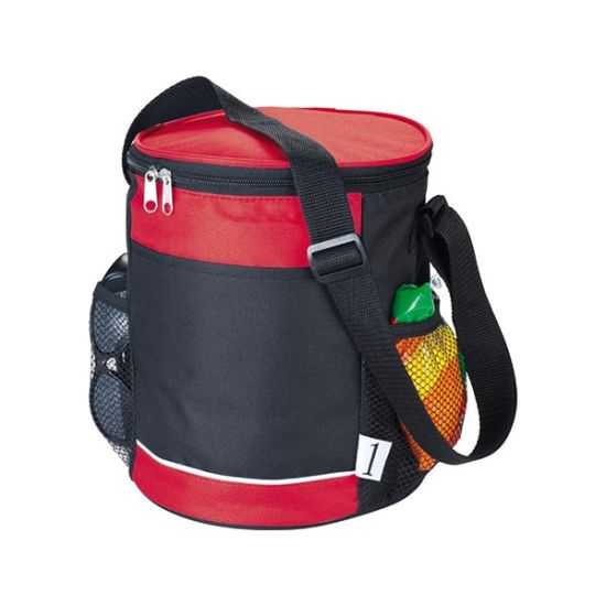 Six Cans Round Shape Cooler Bag pictures & photos