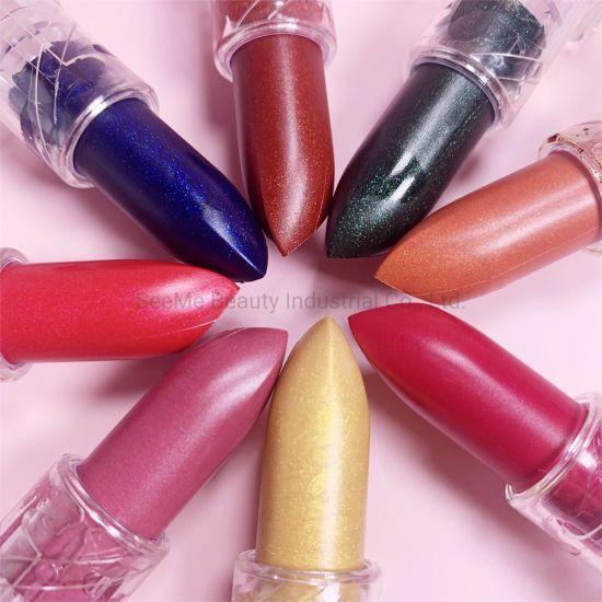 Kids Private Label Luxury Free Samples Lip Cream Mattee New Label Angel China Cheap Lip Stick Custom Logo Glittery Lipsticks
