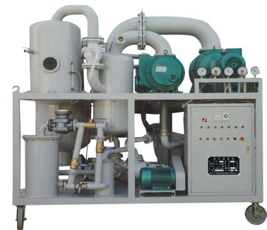 Double-Stage Highly Effective Vacuum Transformer/Insulating Oil Purifier