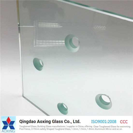 12mm Best Price Clear Tempered / Toughened Glass