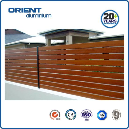 Waterproof Aluminum Metal Safety Fence Privacy Screen