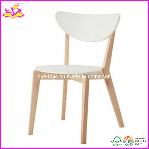 Natural wood color children chair (W08G059)