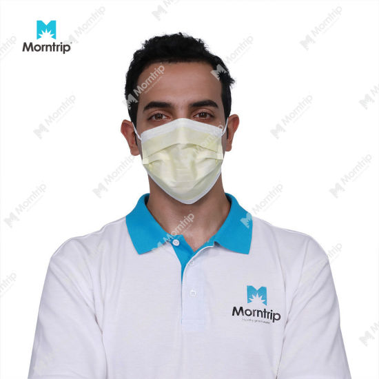 Flat Type 3-Ply Protective Breathable Non Woven Face Dust Mask