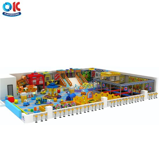 Ok Playground New Design Multi-Functional for Sale Kids Indoor Playground Children