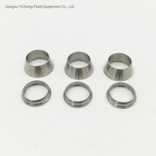 Tube Fititngs & Pipe Fittings, 316 Ss Front and Back Ferrules Replacement Parts, Can Combination with Swagelok
