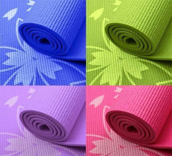 Wholesale Natural Fitness Exercise Gym PVC Yoga Mat