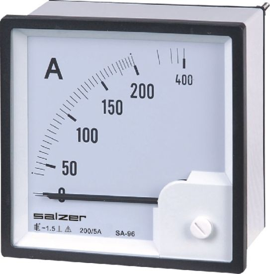 China Salzer Brand Ammeter Panel Meter Sa 96 Sa 72 China Panel Meter Ammeter
