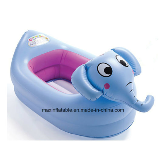 PVC Kids Pool and Bath Tool Inflatable Bathtub with Frog Head pictures & photos