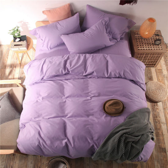 China Wholesale Cotton and Linen Bedding Set with Super Quality and Competitive Price pictures & photos