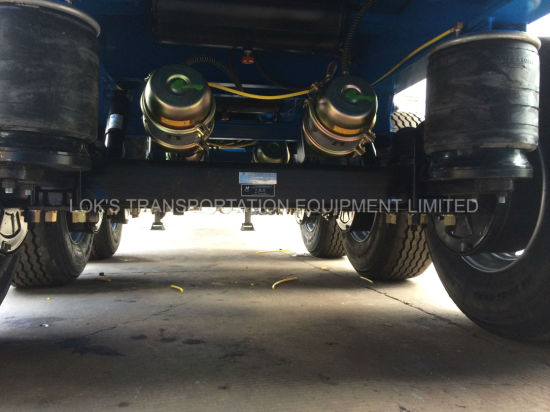 40 Feet 3axles Container Chassis Semi Trailer pictures & photos