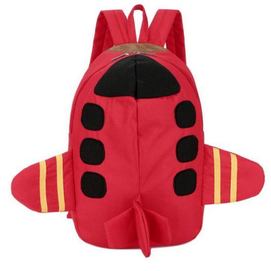 Wholesale Flyer 3D Plane Shape Kids Backpack School Bags