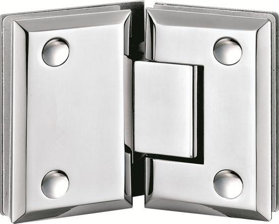 China Hardware Frameless Glass Shower Door Hinges China Glass Door