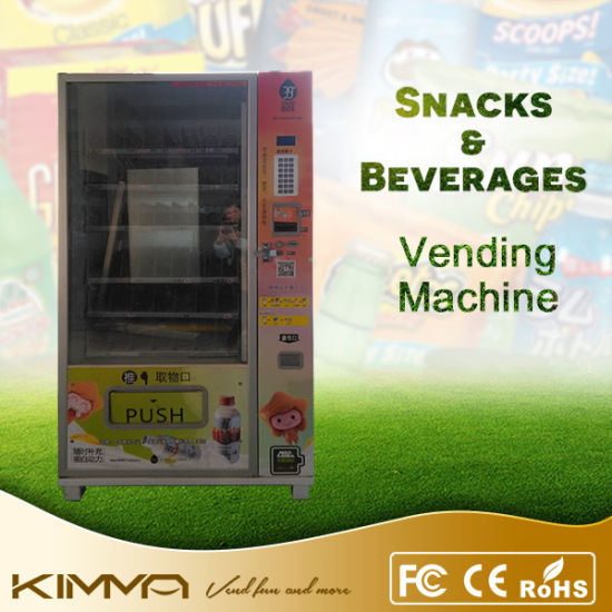 Snacks and Candy Vending Machine with Cooling System