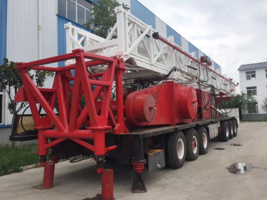 API Oilfield Truck Mounted Rig Oil /Well Service Workover Rig/Xj 650  Workover Rig