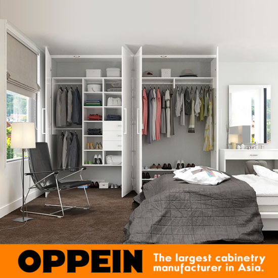 Oppein Modern White Melamine Reach-in Closet (YG17-M06) pictures & photos