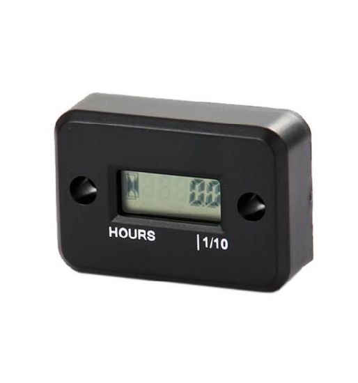 Waterproof Digital LCD Counter Hour Meter for Dirt Quad Bike ATV Motorcycle Snowmobile Jet Ski Boat Pit Bike Motorbike Mx Marine pictures & photos