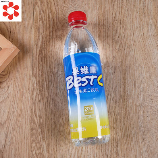 Custom PVC Pet POF OPS Printed Shrink Sleeve Label for Soft Drink Bottle