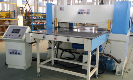 Single Side Auto-Feeding Table Precision Four-Column Hydraulic Plane Cutting Machine pictures & photos