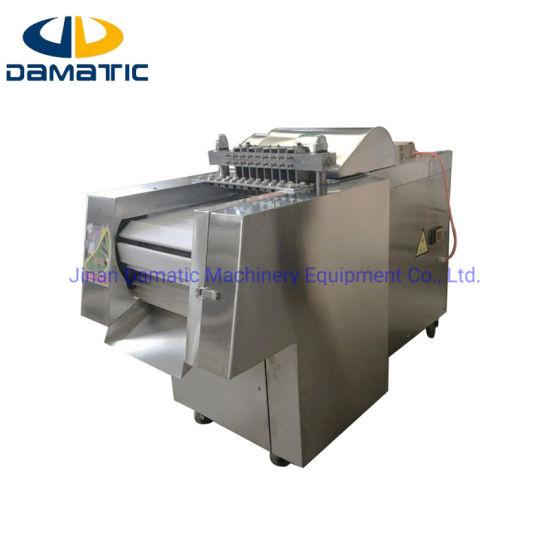Meat Processing Machine/Fresh and Frozen Poultry Chicken Chopper Cutter Cutting Machine