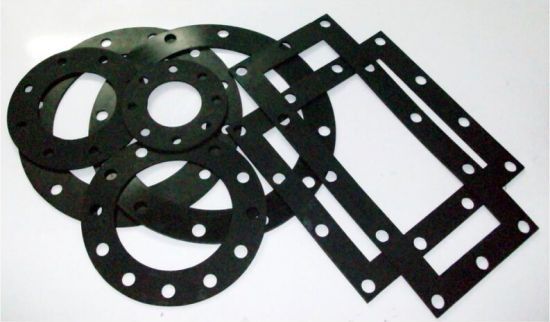 China Rubber Gasket, PTFE Bonded EPDM Rubber Gasket - China PTFE ...
