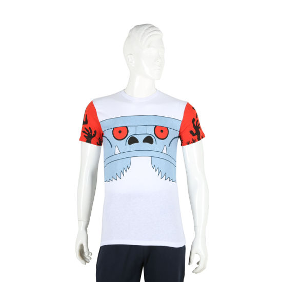 Customized Embroidery Printing Men Lad'es Sports T-Shirt