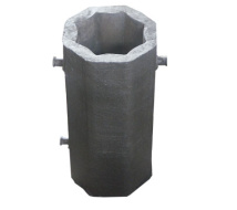Top Selling Cast Iron Ingot Square Steel Pipe Mould