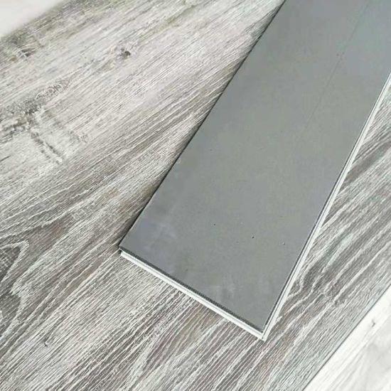 Hot Item Click Style Virgin Material Vinyl Floor Covering Spc Floor With Eva Backing