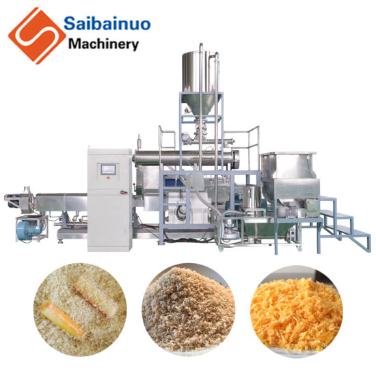 2019 New Products Bread Crumbs Type Croutons Machine