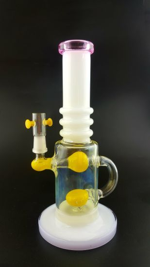 High Quality Unique Oil Rigs Matrix Handcrafted America Colors Glass Smoking Water Pipe pictures & photos