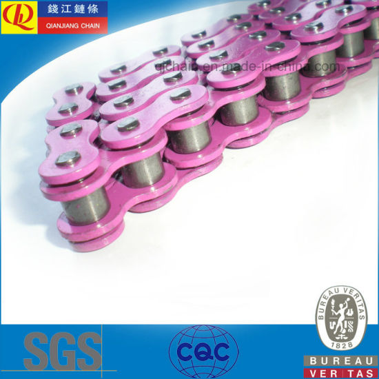 Color O-Ring Motorcyclye Chain (520V) pictures & photos