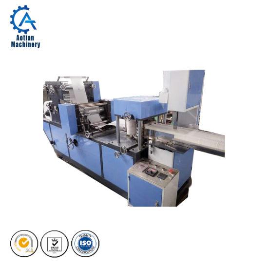 Machinery Industry Toilet Paper Napkin Folding Machine