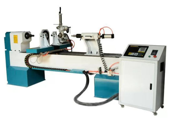 Automatic 1530 Single Axis CNC Wood Lathe Turning Carving Wooden Bowls