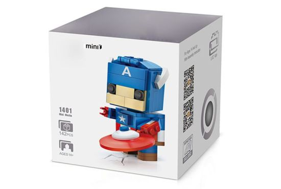 6731401-ABS Cartoon Hero Style Building Block pictures & photos