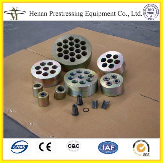 Post Tension Prestressed Wedge Anchor for PC Strand