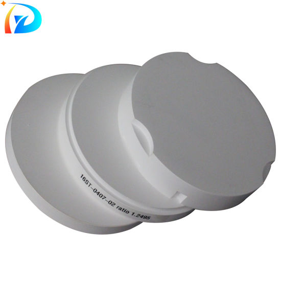 Hard to Collapse Porcelain Dental Zirconia Disc for Dental Laboratory