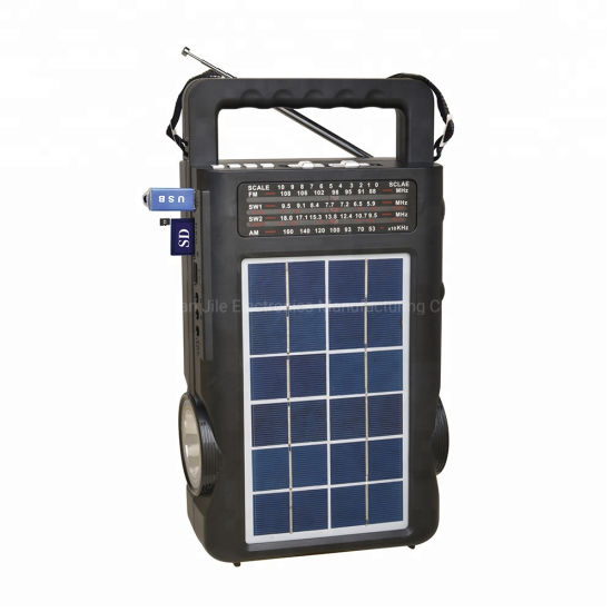 Newest Solar Powered FM Am Sw Radio MP3 Player Bt Radio pictures & photos