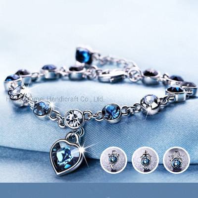 Charming Zodiac Crystal Bracelet Fashion Gold Plating Jewelry Bracelets pictures & photos
