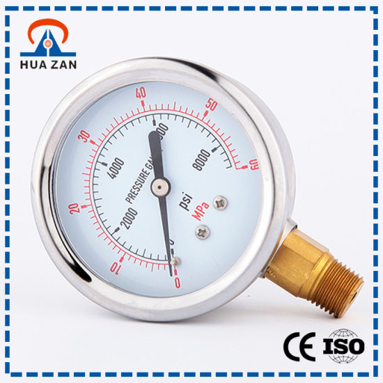 Factory Wholesale Air Pressure Instrument Made in China Boiler Pressure Gauge pictures & photos