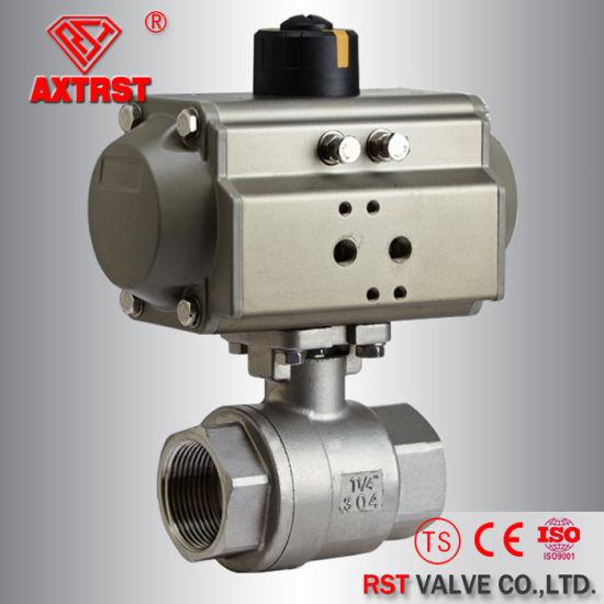 Factory fabrication pneumatic actuators and pneumatic automation